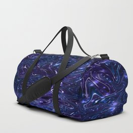 The Wolves Hidden in the Sapphire Blue Galaxy Duffle Bag