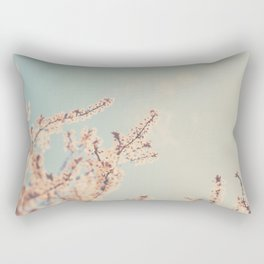 spring is in bloom ...  Rectangular Pillow