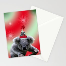 Christmas Koala Stationery Cards