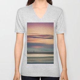 Oceanside Serenity Unisex V-Neck
