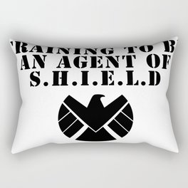 S.H.I.E.L.D Training Rectangular Pillow