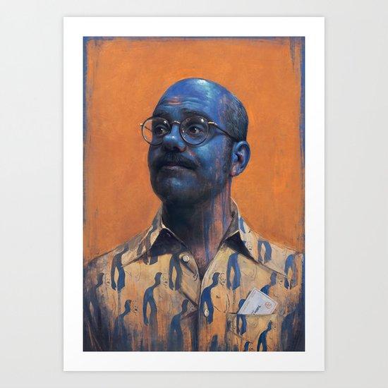 Man Inside Art Print