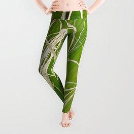 Palm Fan Art Leggings