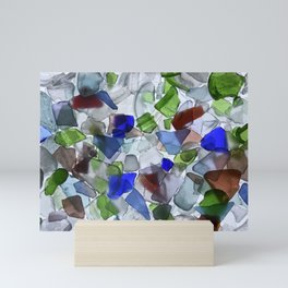 Beach Glass Mini Art Print
