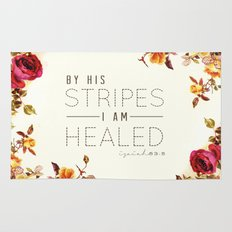 Isaiah 53:5 Rug