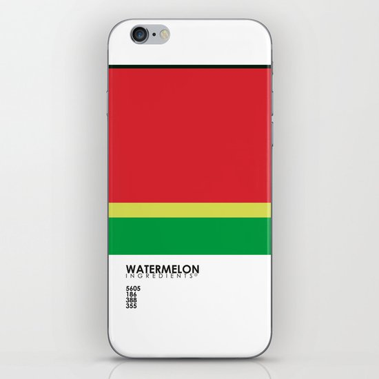 Pantone Fruit - Watermelon iPhone & iPod Skin