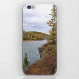 River of ural mountains. Sub-polar Ural. iPhone Skin