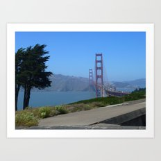 Golden Gate Bridge from the Presidio Art Print
