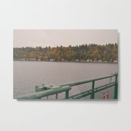 Fall in port townsend. Metal Print