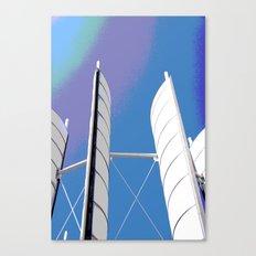 Metal Sails #1 Canvas Print