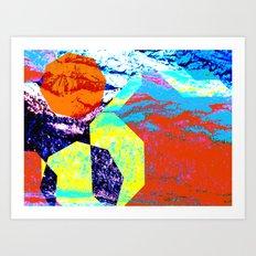 WORLD OF DREAMS 6 Art Print