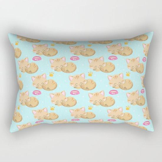 Cute Cat #3 Rectangular Pillow