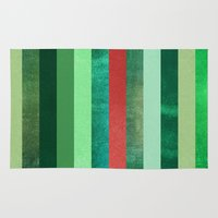 watermelon Area & Throw Rugs featuring Watermelon by Elisabeth Fredriksson
