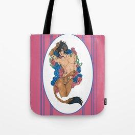 A Beauty and a Beast Tote Bag