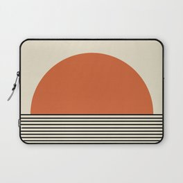 Sunrise / Sunset - Orange & Black Laptop Sleeve