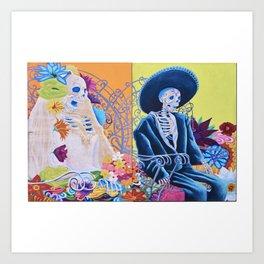 May We Never Part Art Print