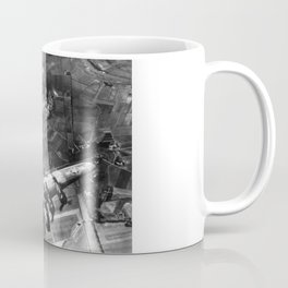 B-17 Bomber Over Germany Painting Coffee Mug