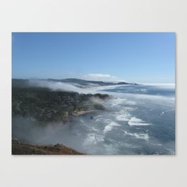 Fog Rolling In Canvas Print