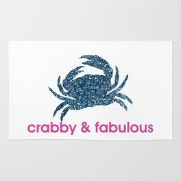 Crabby & fabulous Rug