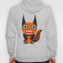 Funny orange monster Hoody