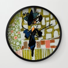 shopping queen Wall Clock
