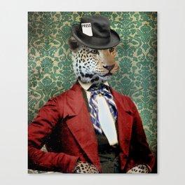 Jasper, Gentleman of the Press Canvas Print