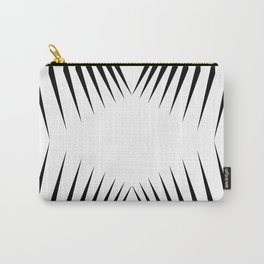 triangles with eyes Carry-All Pouch