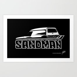 Holden Sandman Panel Van Art Print