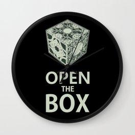 Hellraiser (Open the Box) Wall Clock