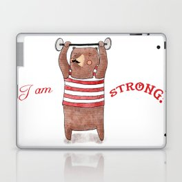 I am strong Laptop & iPad Skin