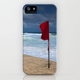 No Swimming iPhone Case