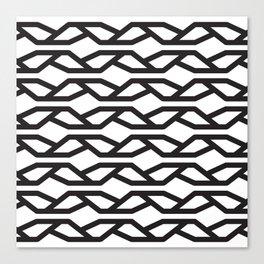 K Pattern Canvas Print