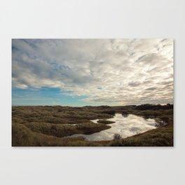 Bamburgh Dunes Canvas Print