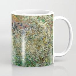 Flowering Plum Trees by Claude Monet Coffee Mug