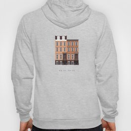 New York, NY Brownstone Hoody