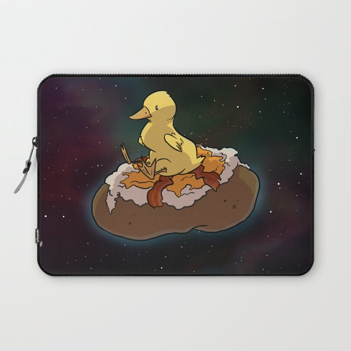 Space Duck Laptop Sleeve