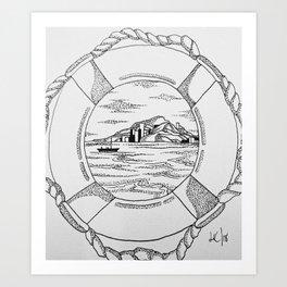 Porthole 2. Art Print