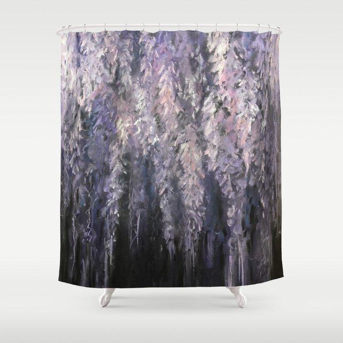 Wisteria Shower Curtain By Taradeetscreek