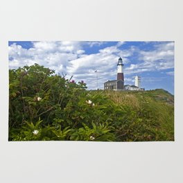 Montauk Point Lighthouse Rug