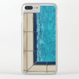 Azul Clear iPhone Case