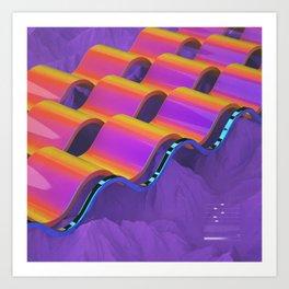 W4V35 Art Print