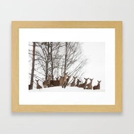 We See You Framed Art Print