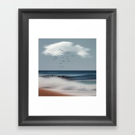 Atlantic Water Framed Art Print