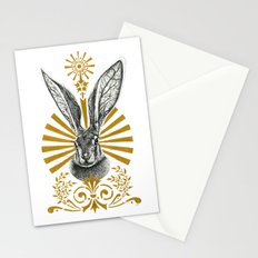 Beasts of the forest: Hare Stationery Cards