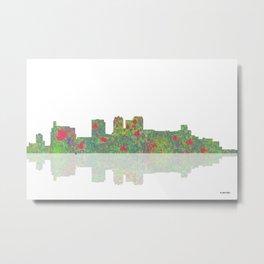 Birmingham, Alabama Skyline Metal Print