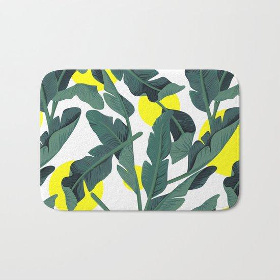 Tropical '17 - Fresh [Banana Leaves] Bath Mat