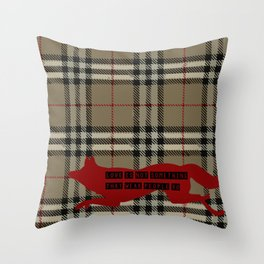 fleabag love is not something weak people do Throw Pillow