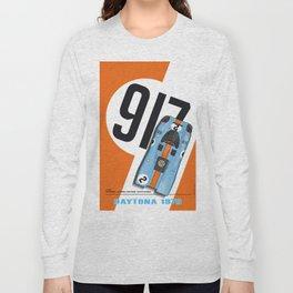 917 Rodriguez-Kinnunen Orange Long Sleeve T-shirt