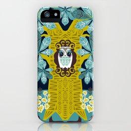 The Horse Chestnut {Night} iPhone Case