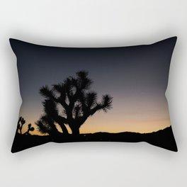 Joshua Tree Silhouette Rectangular Pillow